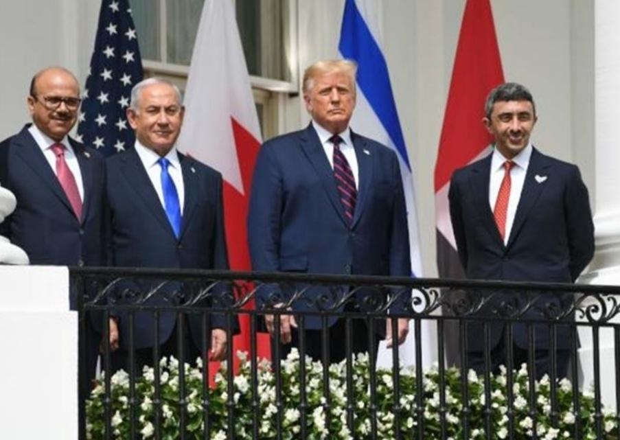فيديو.. اتفاق سلام تاريخي جمع الإمارات والبحرين وإسرائيل