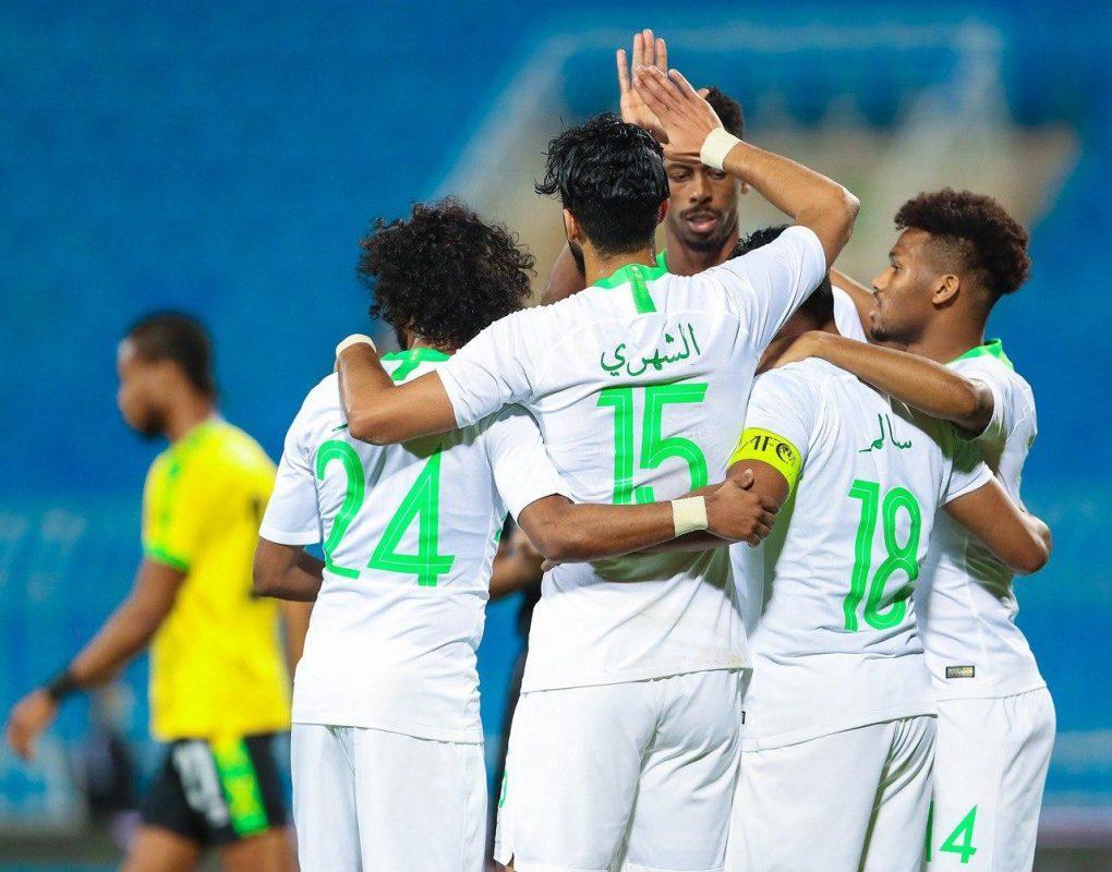 الأخضر السعودي يكسب جامايكا وديًا بثلاثية