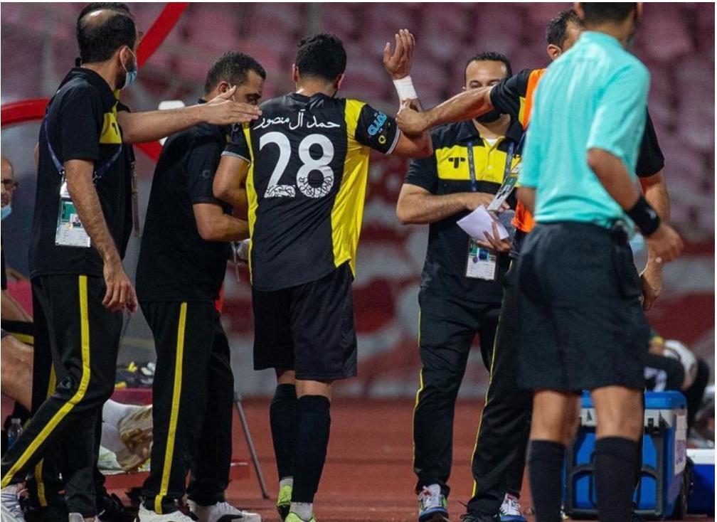 حمد آل منصور: أتمنى من المدرب والجميع قبول اعتذاري عن التصرف الذي بدر مني