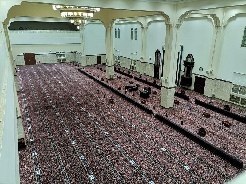 """""""الشؤون الإسلامية"""": إعادة افتتاح 1500 مسجد خلال الـ124 يومًا الماضية"""