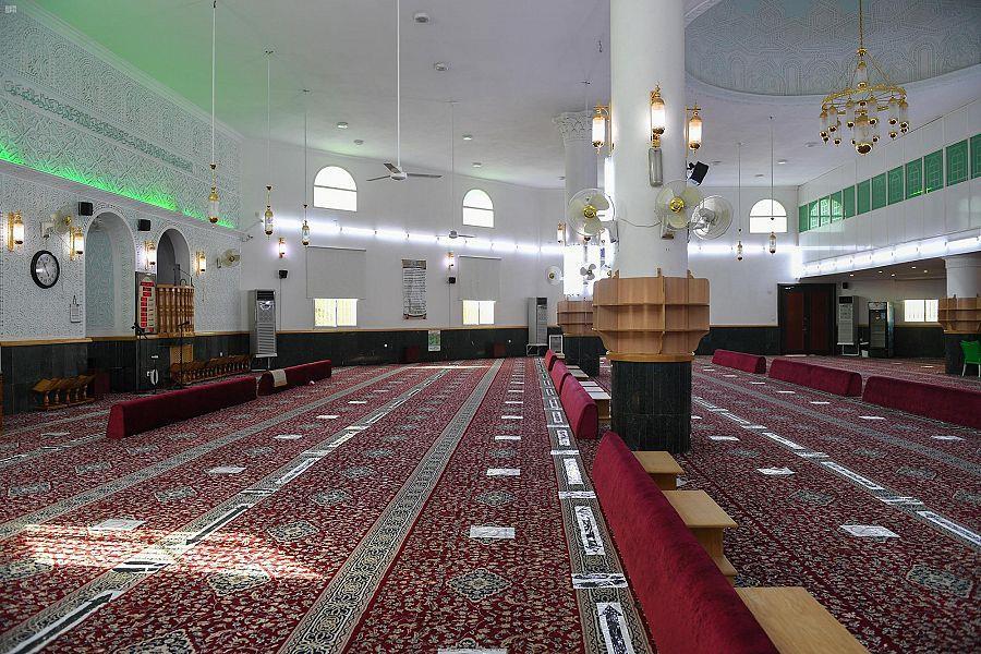 143 مخالفة تطبيق الإجراءات الاحترازية في المساجد