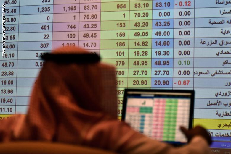 مؤشر سوق السعودية يخترق حاجز الـ10 آلاف نقطة لأول مرة منذ 2014