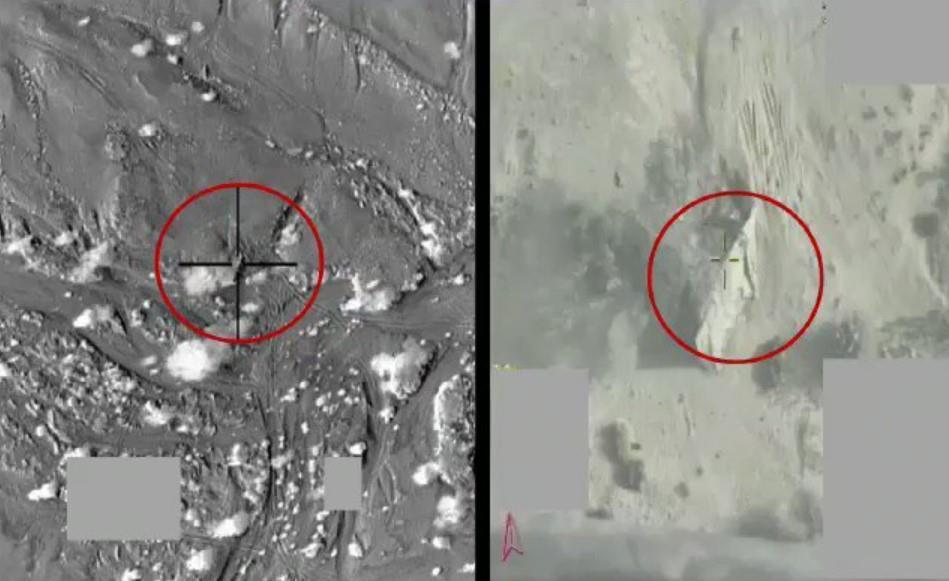 التحالف ينشر فيديو تدمير الصاروخ الباليستي الحوثي قبل إطلاقه في مدينة مأرب