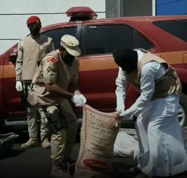 شاهد.. ضبط 292 كيلو جرامًا حشيش مخدر بجازان