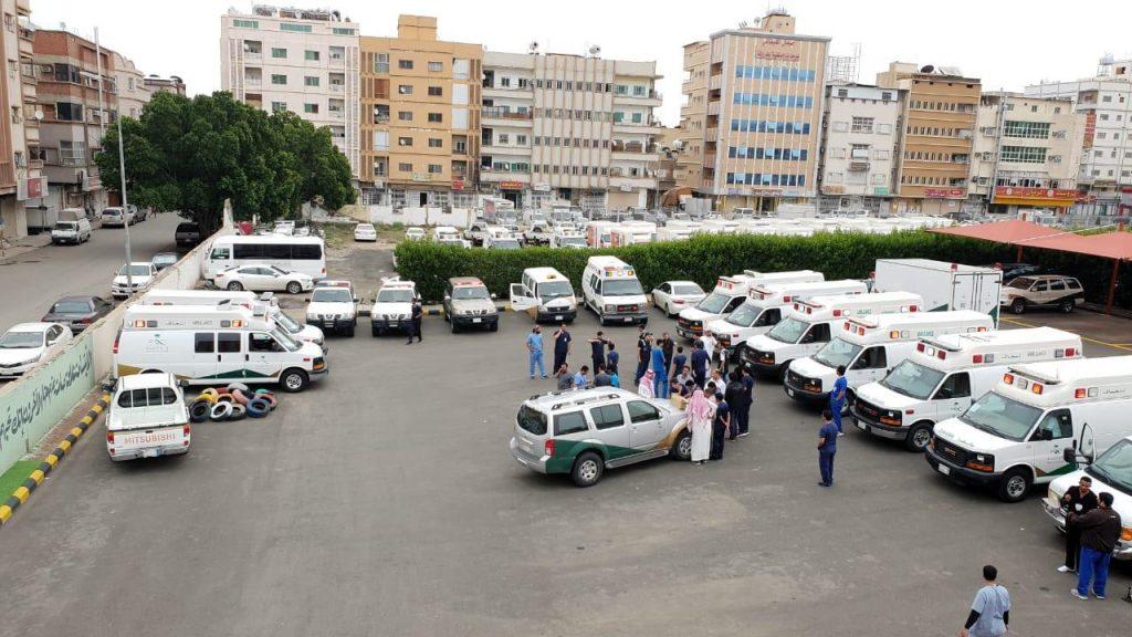 طوارئ الطائف تنجح في نقل سيدة تزن 300 كجم من منزلها للمستشفى