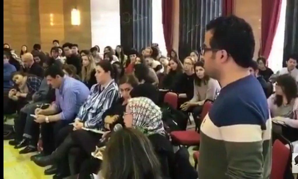 شاهد..حمد المحمود يرد على محاضر بريطاني وصف المملكة بالدولة الأخطر في العالم