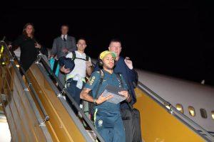 وصول المنتخب البرازيلي إلى العاصمة الرياض للمشاركة في البطولة الرباعية
