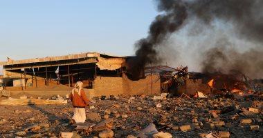 مقاتلات التحالف تدمر مخزن سلاح تابعا للحوثيين فى الحديدة