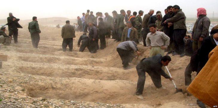 اكتشاف 200 مقبرة جماعية بمناطق عراقية