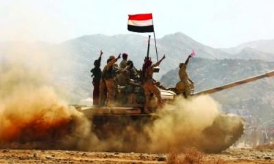 الجيش اليمني يستهدف تعزيزات للحوثيين في حجة