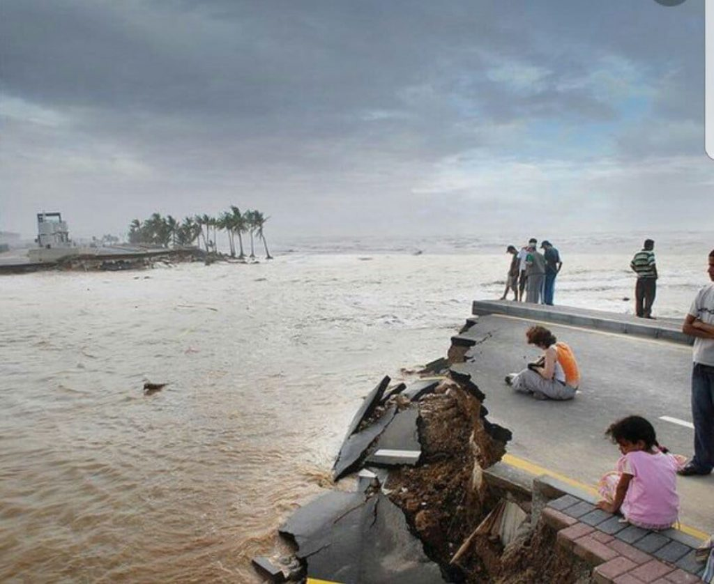 آخر تطورات إعصار مكونو بعمان..  والسلطات توجه رسالة للمواطنين