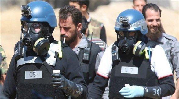 منظمة حظر الأسلحة الكيميائية تؤكد: غاز الكلور استُخدم  بسراقب السورية في فبراير
