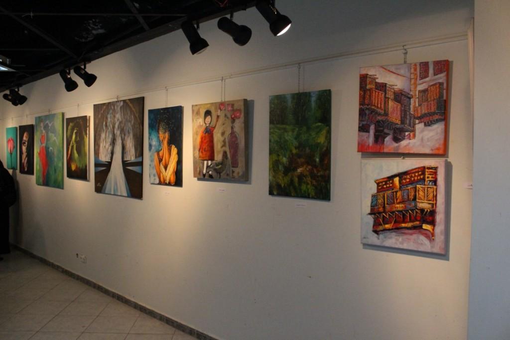 """""""بيت التشكيليين"""" يطلق المعرض السنوي لأعضائه"""