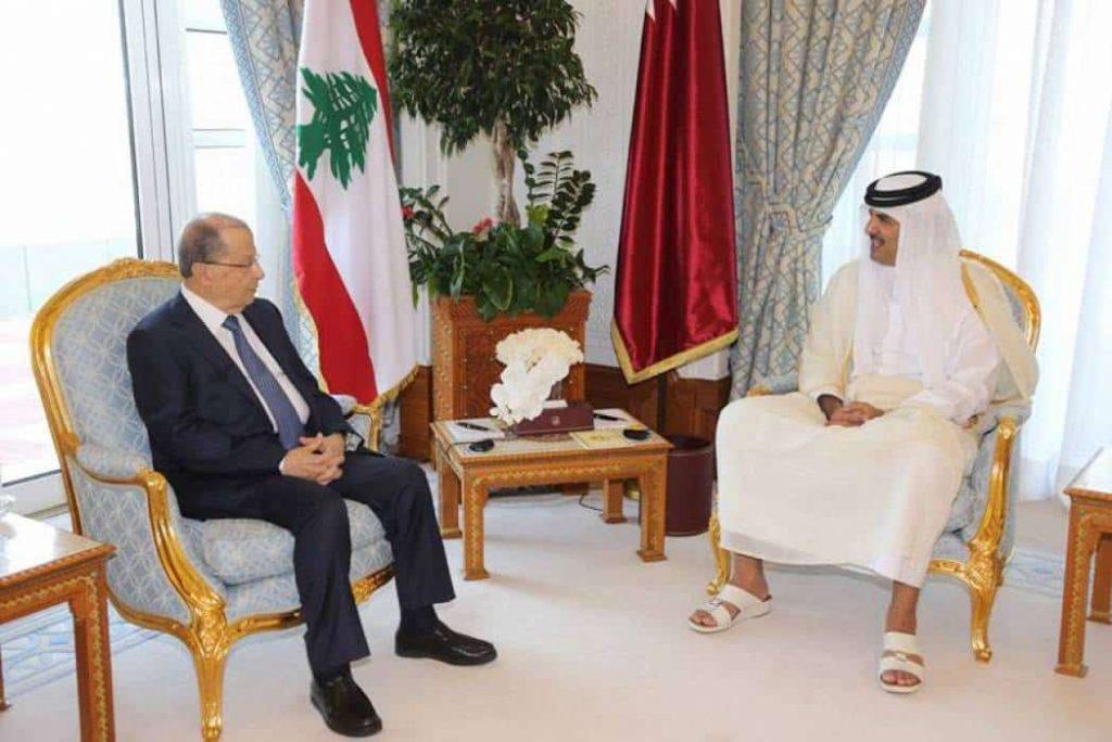 قطر ترشو عون ب75 مليونا لمناهضة السعودية