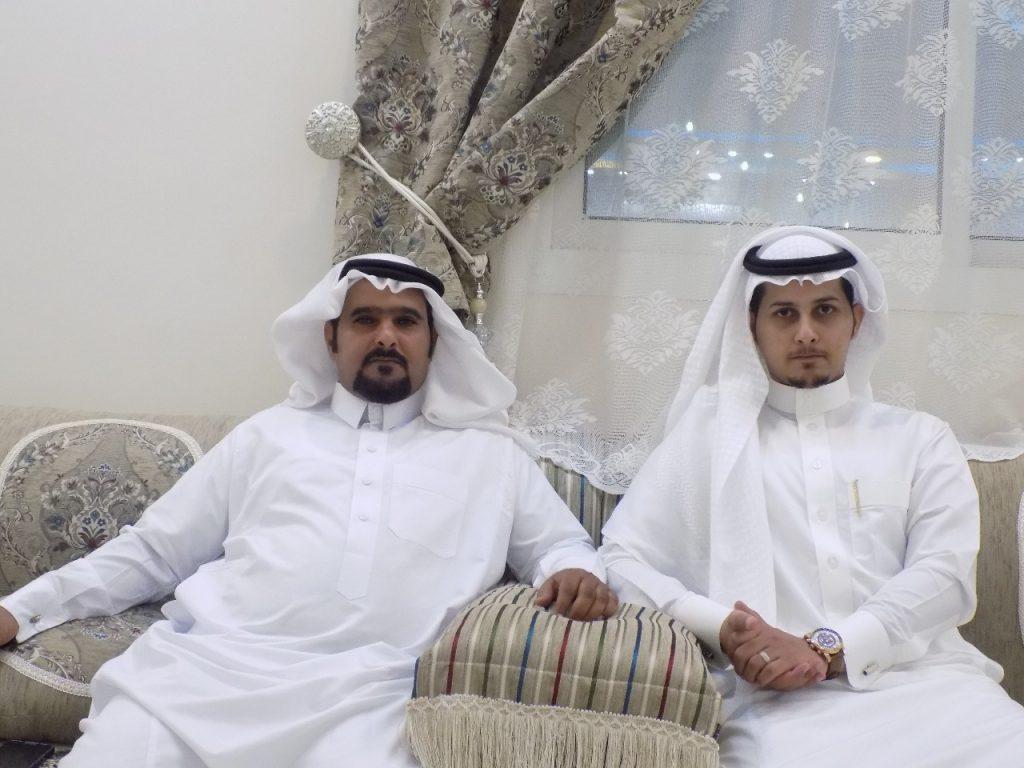 الرئيس رقباء يحتفل بعقد قران ابنه الملازم راكان البقمي