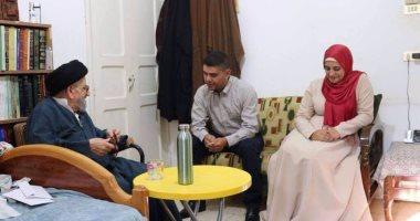 بالصور.. لبنانية مسلمة تتزوج مسيحيًا بكنيسة جنوب بيروت
